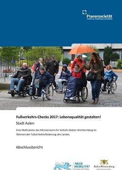 Abschlussbericht Fußverkehrs-Check
