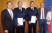 Feuerwehr Aalen - Abteilungskommandanten bestellt