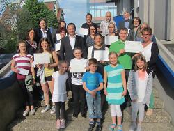 Die Gewinner der diesjährigen Flurputzete.