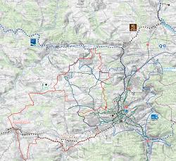 Streckenverlauf Deutscher Limes-Radweg