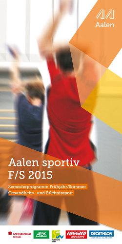 Aalen Sportiv Frühjahr / Sommer 2015