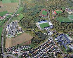 Hochschule Aalen aus der Luft