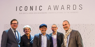 "Verleihung des ""Iconic Awards"""
