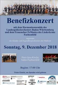 Benefizkonzert Herz-Jesu-Kirche Aalen-Fachsenfeld