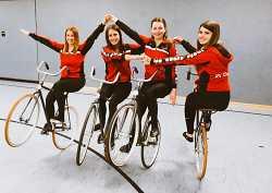 """4er Team Kunstradsport """"Elite"""""""
