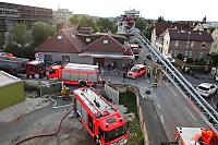 Feuerwehr-Übung auf dem Union-Gelände am 21.6.2017