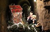 """Grußkarte - Weihnachten im Besucherbergwerk """"Tiefer Stollen"""""""
