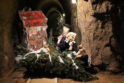 Grußkarte - Weihnachten im Besucherbergwerk Tiefer Stollen