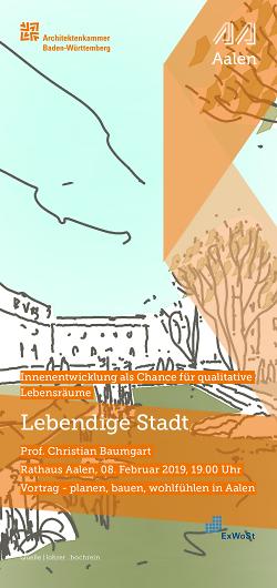 """Impulsvortrag """"Lebendige Stadt"""""""