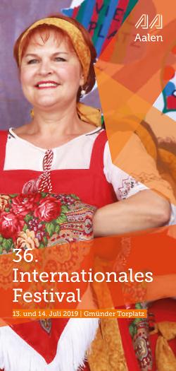 36. Internationales Festival
