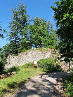 Kocherburg in Unterkochen