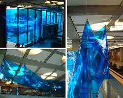 Installation von Nikolaus Kuliusis im Rathaus Aalen