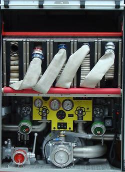 Heckgeräteraum des LF-KatS