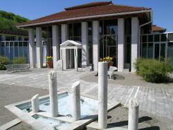Die Limes-Thermen wurden 1985 eingeweiht und haben sich seitdem zu einer der Aalener Hauptattraktionen entwickelt.