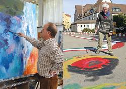 Zwei Maler von uns - Helmut Schuster & Hannes Münz