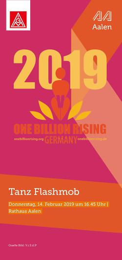 One Billion Rising - Aalen tanzt wieder