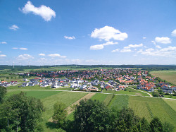 Ansicht auf Waldhausen
