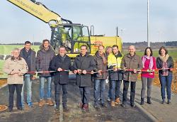 13 Bauplätze in Waldhausen sind neu erschlossen