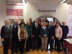 Oberbürgermeister Thilo Rentschler besuchte die Wischauer Sprachinsel