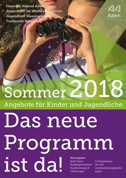 Programmheft Sommer 2018
