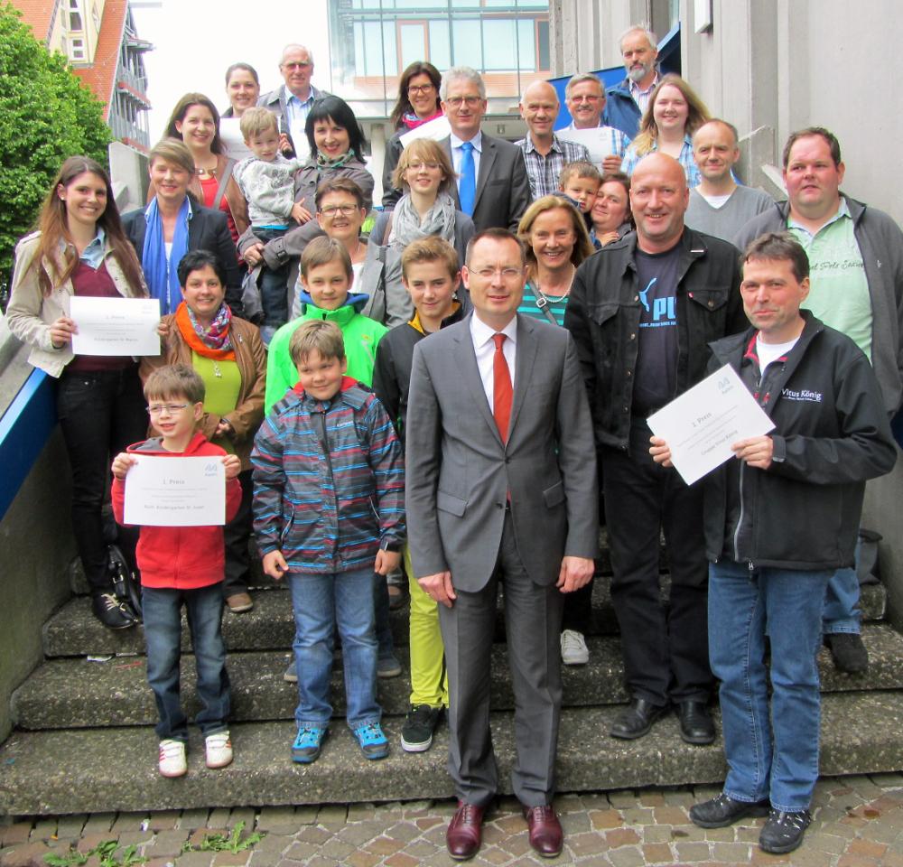OB Rentschler dankt für Flurputzete - Stadt Aalen