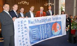 UNESCO-Dekadestadt Verleihung