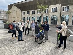 Beirat von Menschen mit  Behinderung berät im Stadtoval