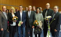 Stadt Aalen begrüßt zwei neue Amtsleitungen