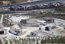 Auf diesem Bild ist eine Luftaufnahme des EXPO-Geländes in Hatay zu sehen.