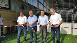 Kalthalle des TSV Dewangen steht bereit für den Sport