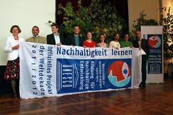 UNESCO-Auszeichnung Aalen nachhaltig(er)leben 2011 / 2012
