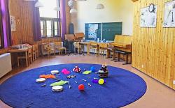 Unterrichtsraum der Musikschule Aalen für die musikalische Früherziehung