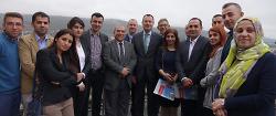 Oberbürgermeister empfängt irakische Verkehrsplaner-Delegation im Rathaus