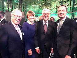 OB Rentschler trifft Bundespräsidenten