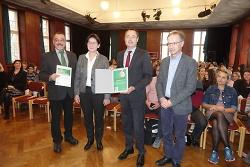 """Schubart-Gymnasium mit """"Grünem Aal"""" ausgezeichnet."""