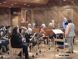 Beim Blockflötenspieltag der Musikschule wurde viel einstudiert.