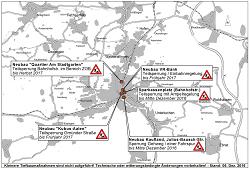 Aktueller Baustellenplan der Stadt Aalen für Dezember 2016