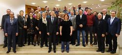 Stadt Aalen ehrt Jubilare und verabschiedet Mitarbeiter