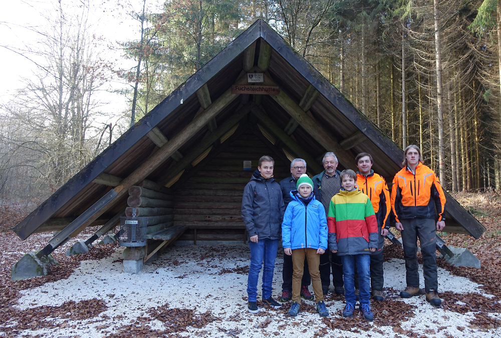 Fuchsteichhütte auf neuen Füßen - Stadt Aalen