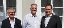 Erster Bürgermeister Steidle zu Antrittsbesuch in Saint-Ghislain