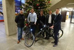 Städtische Mitarbeiter können zwei neue E-Bikes nutzen