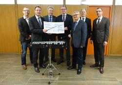 Lions Club Gmünd-Aalen-Ellwangen spendet für die Jugendkapelle Aalen