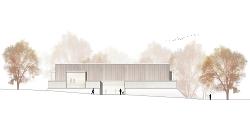 Ansicht des sanierten Limesmuseums
