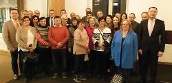 Die Jubilare bei der Stadt Aalen sowie die in den Ruhestand verabschiedeten Mitarbeiterinnen und Mitarbeiter wurden bei einer Feierstunde geehrt.