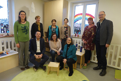 OB besucht neue Räumlichkeiten der Krippe und das Café Malta im Rathaus Wasseralfingen