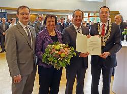 Amtseinsetzung von Wolfgang Steidle zum Ersten Bürgermeister der Stadt Aalen