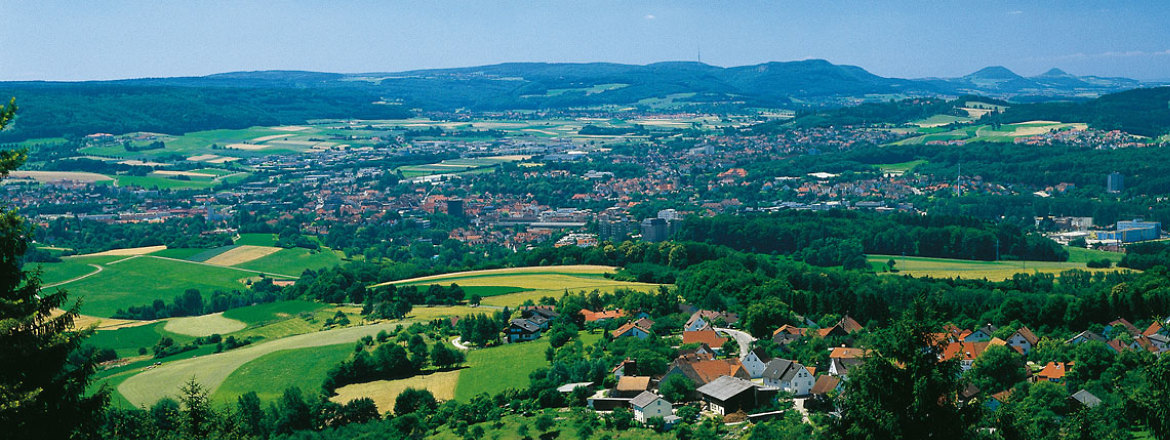 Panoramic View of Aalen Landscape