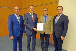 Wahl Patrizius Gentner zum Ortsvorsteher von Waldhausen