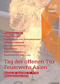 Plakat Tag der offenen Tür 2014