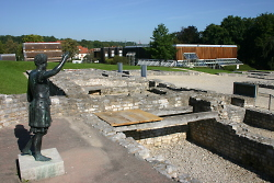 Principia Reiterbaracke und Limesmuseum